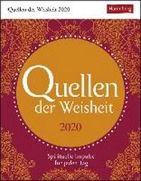 Quellen der Weisheit - Kalender 2020