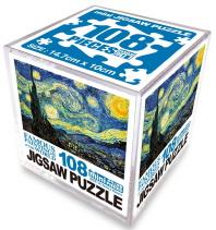 명화 직소퍼즐 108pcs: 별이 빛나는 밤