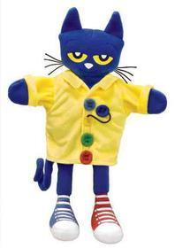 Pete the Cat Groovy Buttons Puppet