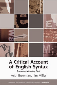 A Critical Account of English Syntax