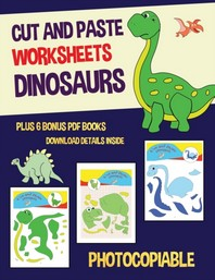 Cut and Paste Worksheets - Dinosaurs
