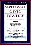 National Civic Review, No. 3, Fall 1999