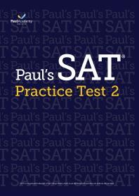 Paul's SAT Practice Test. 2