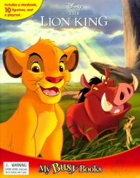Disney Lion King My Busy Book 디즈니 라이온 킹 비지북