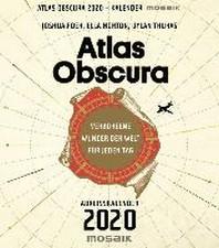 Atlas Obscura - Abreisskalender 2020