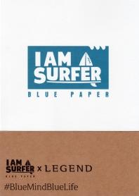 I am A Surfer: Blue Paper