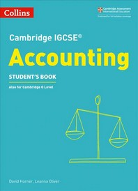 Cambridge Igcse(r) Accounting Student Book