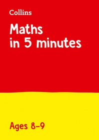Letts Maths in 5 Minutes a Day Age 8-9