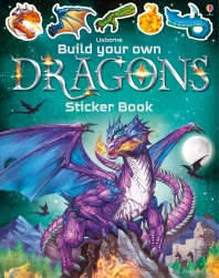 Build Your Own Dragons Sticker Book (Build Your Own Sticker Book)