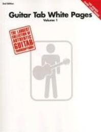Guitar Tab White Pages - Volume 1
