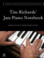 """Tim Richard's Jazz Piano Notebook - Volume 3 of Scot Ranney's """"Jazz Piano Notebook Series"""""""