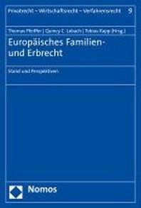 Europaisches Familien- Und Erbrecht