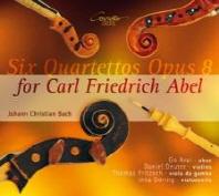 6 Quartette op.8 fuer Carl Friedrich Abel