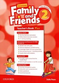 American Family and Friends 2E 2 TB Plus