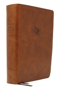 Kjv, Spirit-Filled Life Bible, Third Edition, Leathersoft, Brown, Red Letter Edition, Comfort Print