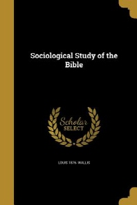 Sociological Study of the Bible