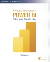 Applied Microsoft Power BI