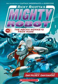 Ricky Ricotta's Mighty Robot vs. the Mecha-Monkeys from Mars (Ricky Ricotta's Mighty Robot #4), 4