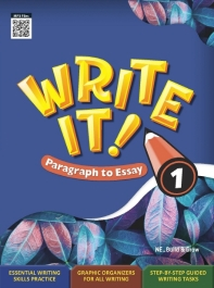 Write It! Paragraph to Essay. 1 (Student Book + Workbook)