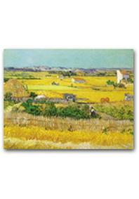 재원브로마이드. 25: 고흐/라 크로의 수확 풍경