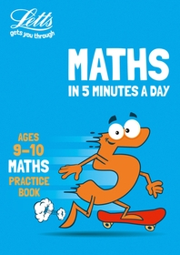 Letts Maths in 5 Minutes a Day Age 9-10
