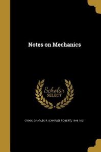 Notes on Mechanics