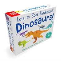 Lots to Spot Flashcards: Dinosaur!