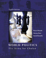 World Politics: The Menu for Choice 8/e