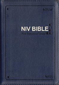 영문 NIV성경(특소)(단본)(색인)(지퍼)(네이비)