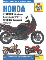 Honda Vtr1000f (Firestorm, Super Hawk) '97 to '07 Kl1000v (Varadero) '99 To'08