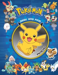 Pok'mon Seek and Find - Pikachu