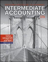 Intermediate Accounting, 17e Rockford Practice Set