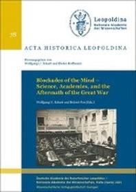 Blockades of the Mind - Science, Academies, and the Aftermath of the Great War