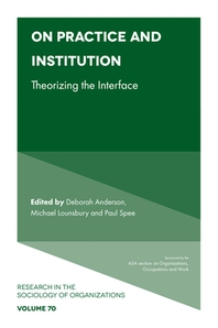 On Practice and Institution