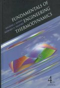 Fundamentals of Engineering Thermodynamics, 4/E