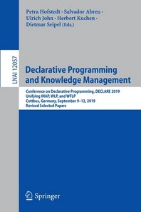 Declarative Programming and Knowledge Management