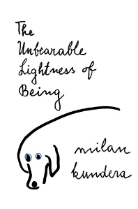 The Unbearable Lightness of Being ( Perennial Classics )