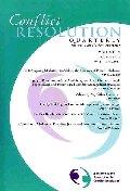 Conflict Resolution Quarterly, No. 2, 2001