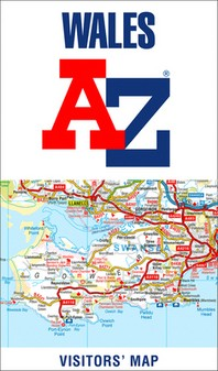 Wales A-Z Visitors' Map