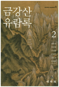 금강산 유람록. 2