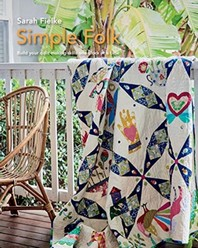 Simple Folk Quilt Pattern with instructional videos