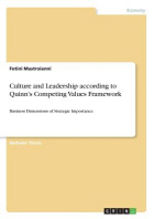 Culture and Leadership according to Quinn's Competing Values Framework