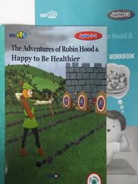 EBS 초목달 Jupiter 5-2 세트 The Adventures of Robin Hood & Happy to Be Healthier