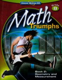 Math Triumphs, Grade 8, Student Study Guide, Book 2