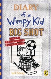 Diary of a Wimpy Kid: Big Shot (Book 16 ,영국판)