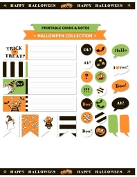 Printable Cards and Notes