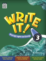 Write It! Paragraph to Essay. 3 (Student Book + Workbook)