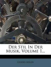 Der Stil in Der Musik.