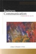 Business Communication : a Framework for Success                   @
