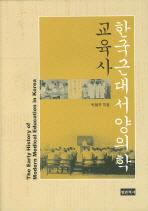 한국근대 서양의학 교육사